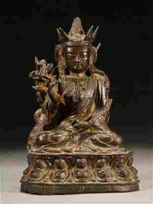Bronze Buddha statues of Ming Dynasty