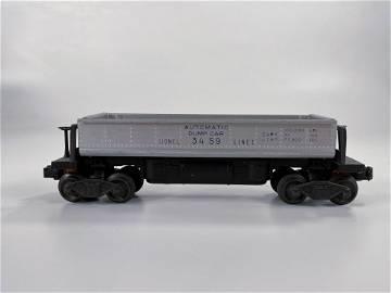 Lionel Postwar #3459 Automatic Dump Car