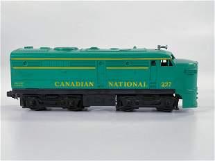 Lionel Postwar #227 Canadian National Alco A Unit