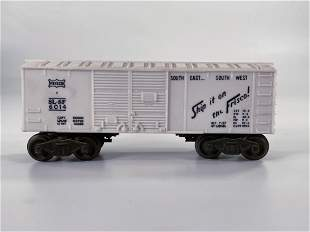 Lionel Postwar #6014 Frisco White Box Car