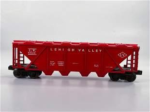 Lionel Postwar #6436 Lehigh Valley Red Quad Hopper