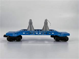 Lionel Postwar #6413 Mercury Project Capsule Car