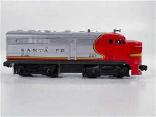 Lionel Postwar #223 Santa Fe Powered Alco Unit