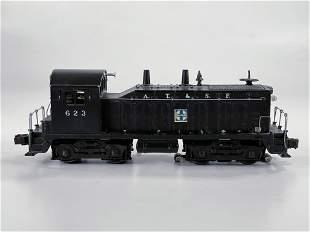 Lionel Postwar #623 Santa Fe Switcher