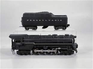 Lionel #682 Black Loco with 2046W Black Tender
