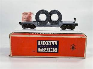 Lionel Postwar #6561 Cable Car, with Original Box