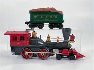 Lionel Postwar #1862 Gray/Red Body General Locomotive,