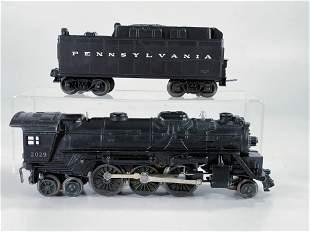 Lionel Postwar #2029 Black Loco with Black Tender
