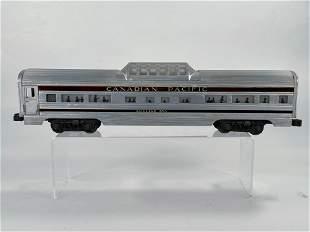 Lionel Postwar #2552 Canadian Pacific Vista Dome Car