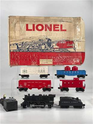 Lionel Postwar #X716 Set- 1060 Freight Set