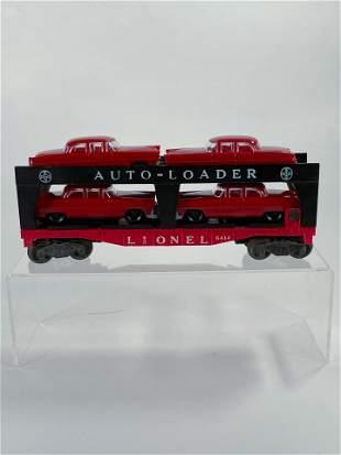 Lionel Postwar #6414 Auto-Loader with Four Dark Red