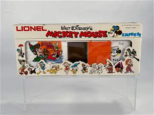 MPC Lionel #6-9665 Mickey Mouse Peter Pan High Cube Box