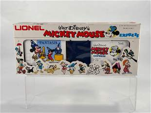 MPC Lionel #6-9671 Mickey Mouse Fantasia Box Car, with