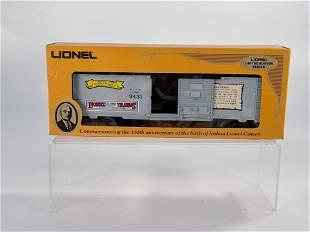 MPC Lionel #6-9431 Joshua Lionel Cowen Box Car the