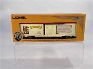 MPC Lionel #6-9429 Joshua Lionel Cowen Box Car The
