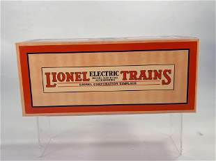 New Lionel #11-70026 2814 O-Gauge Box Car, with