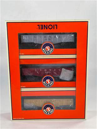 New Lionel #6-52240 Gondola TCA 3 Pack Set, with