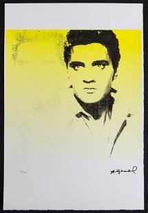 """Andy Warhol """"Elvis Presley"""""""