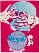 1967 Grateful Dead Continental Ballroom Concert Poster