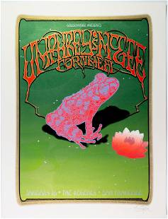 2010 Sperry Umphreys Mcgee The Regency LE Poster SIGNED