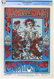 1966 FD-26 Grateful Dead Avalon Poster CGC 9.2 SIGNED