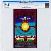 1969 AOR-3.116 Grateful Dead Honolulu Handbill CGC 9.4