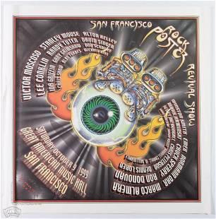 S.F. Rock Poster Revival 99 Signed EMEK Poster