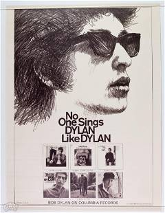No One Sings Like Dylan Promo Poster