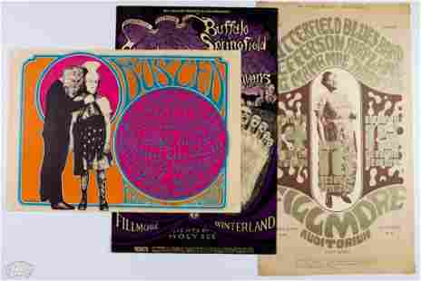 Grab Bag of 3 Popular Psychedelic Posters
