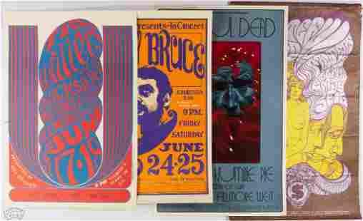 Grab Bag of 4 BG Reprint Posters