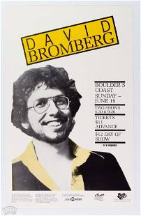 David Bromberg Boulder's Coast Poster
