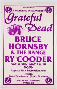 Grateful Dead Laguna Seca Poster