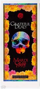 PCL-043-2 Grateful Dead Marti Gras 95 Reprint Poster
