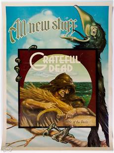 Grateful Dead Wake of the Flood Griffin Promo Poster