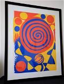 Authentic Alexander Calder Lithograph
