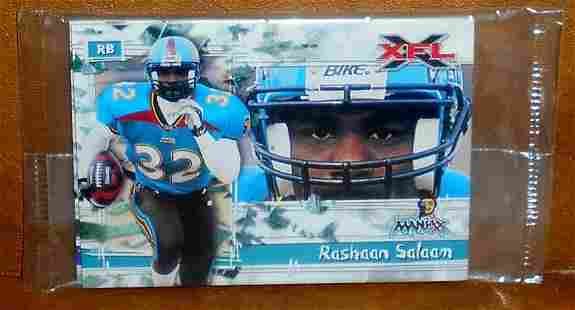 2001 XFL Football Pre Production Pack