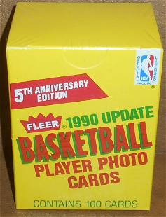 1990 Fleer Basketball Update