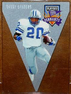 1996 Playoff Contenders Barry Sanders