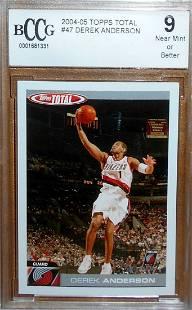 2004-05 Total Topps Basketball Derek Anderson