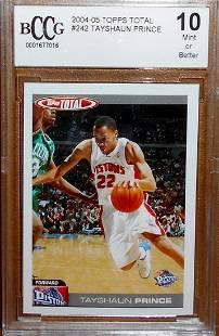 2004-05 Total Topps Basketball Tayshaun Prince