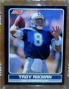 1990 Score Young Superstars Troy Aikman