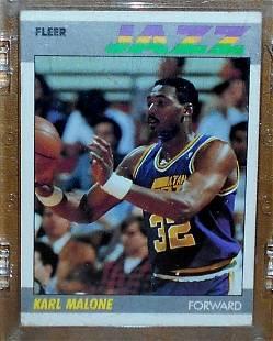 1987 Fleer Basketball Karl Malone