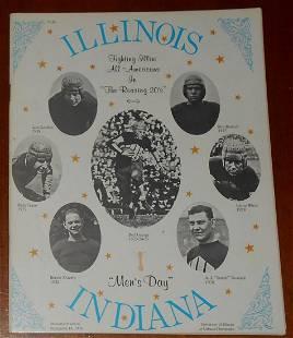 Illinois vs Indiana Football Program