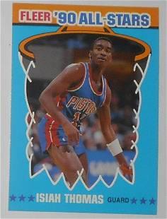 1990 Fleer All Stars Sticker Isiah Thomas