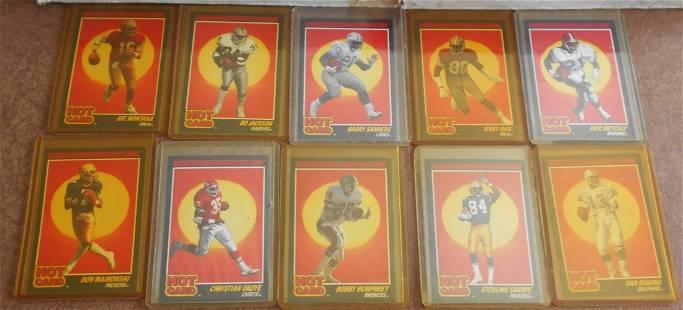1990 Score Football Hot Card Set