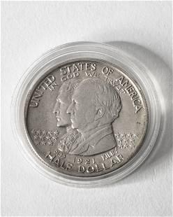 Half Dollar USA 1921 State of Alabama Centennial