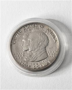 Half Dollar USA 1921 2x2 State of Alabama Centennial