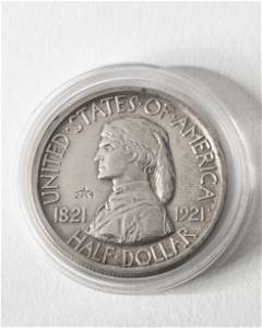Half Dollar USA 1921 Missouri. 2*4 Centennial 2x4