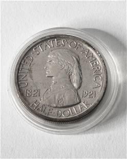 Half Dollar USA 1921 Missouri Centennial