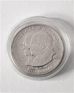 Half Dollar USA 1923 S LA Monroe Doctrine Centennial